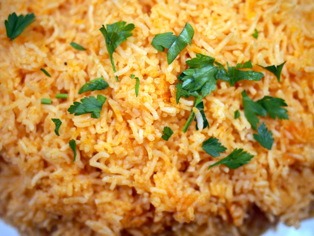 Mexican Red Rice Recipe — Dishmaps