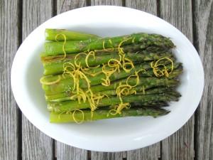 Vegetables, asparagus, roasted with lemon 1