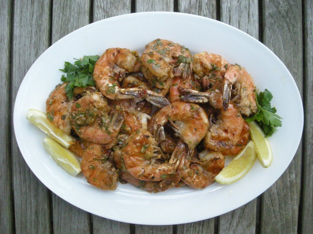 Shrimp, pan-grilled jumbo shrimp remoulade 1