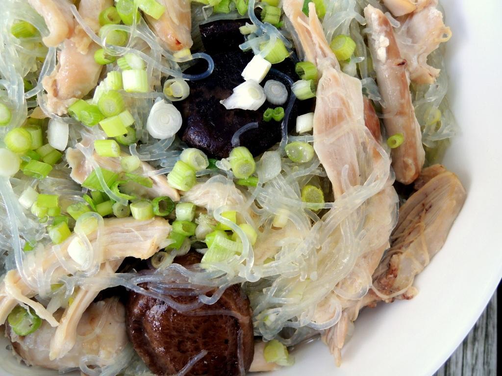 Pasta, sai fun, chicken long rice (Hawaiian) 2
