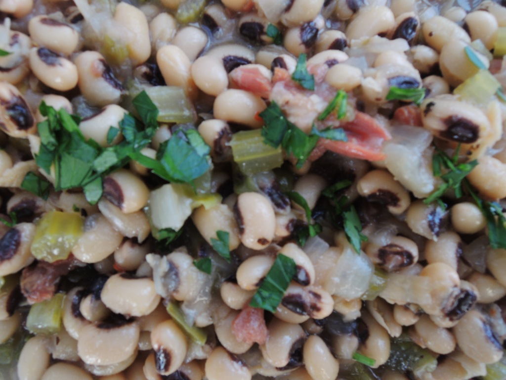 Beans, hoppin' John (black-eyed peas from the American south) 3