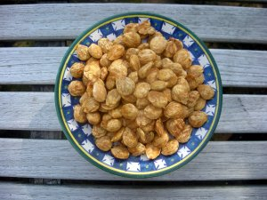 Appetizers, nuts and seeds, marcona almonds with smoked paprika 1