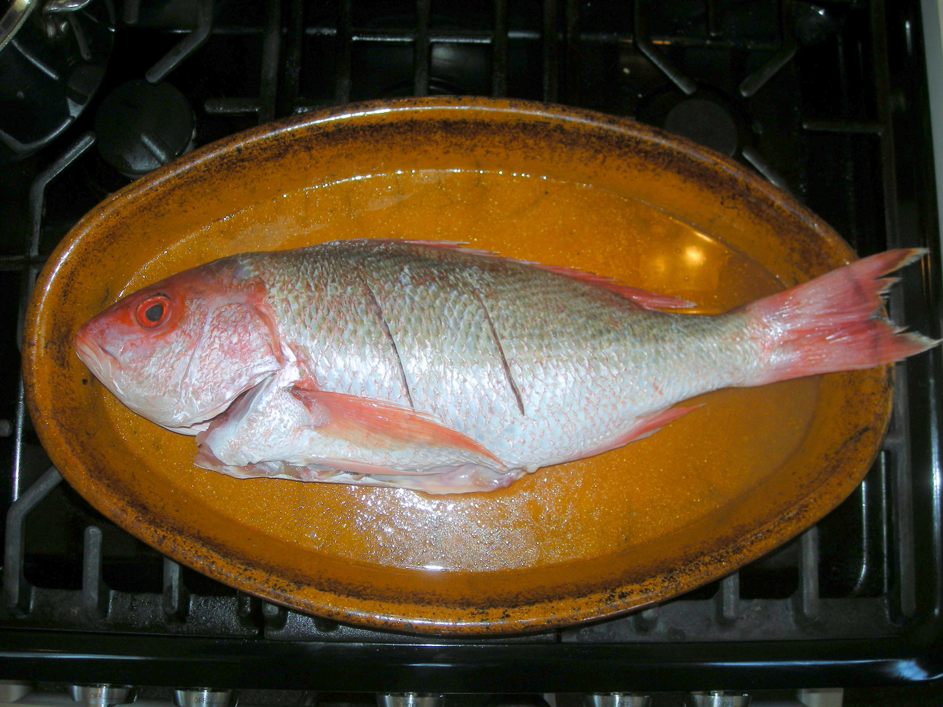 BAKED WHOLE RED SNAPPER – Now You're Cooking!