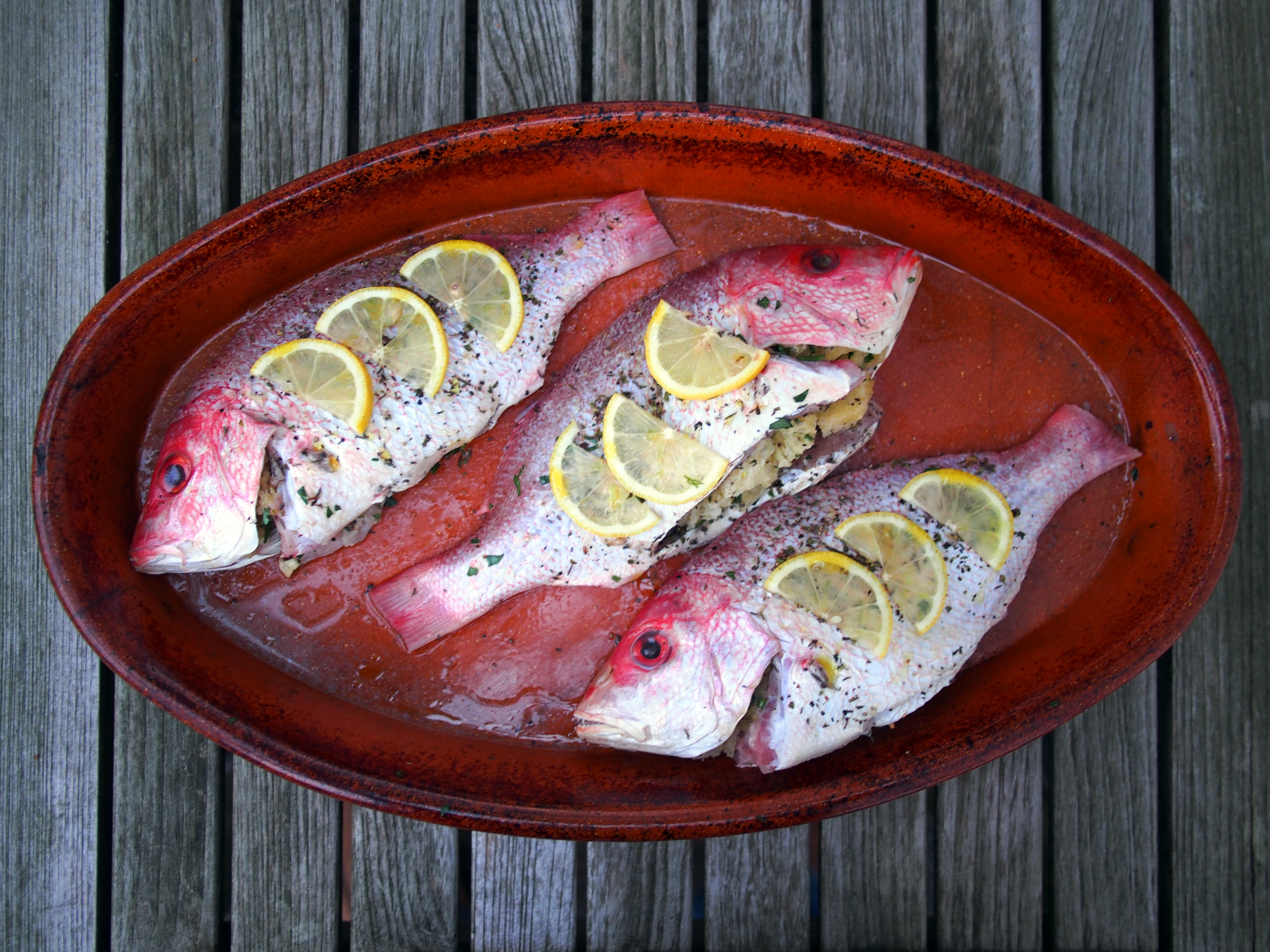 how to cook whole red snapper