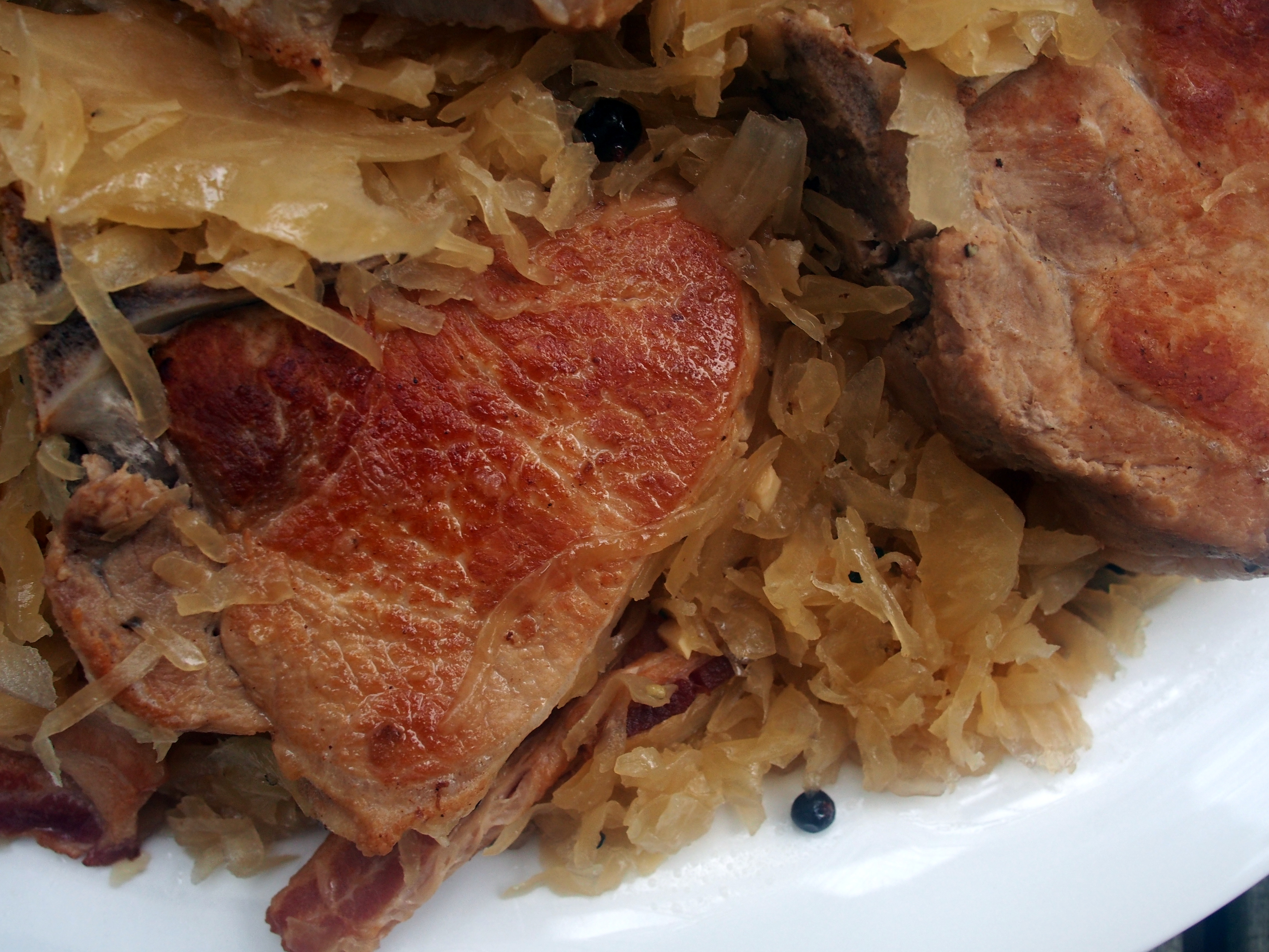 ... pork chop sauerkraut casserole braised pork chops with sauerkraut for