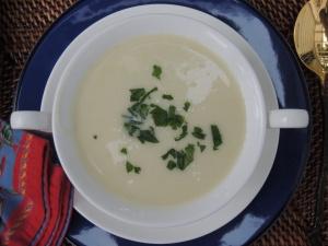 Soups, potato, vichyssoise 2