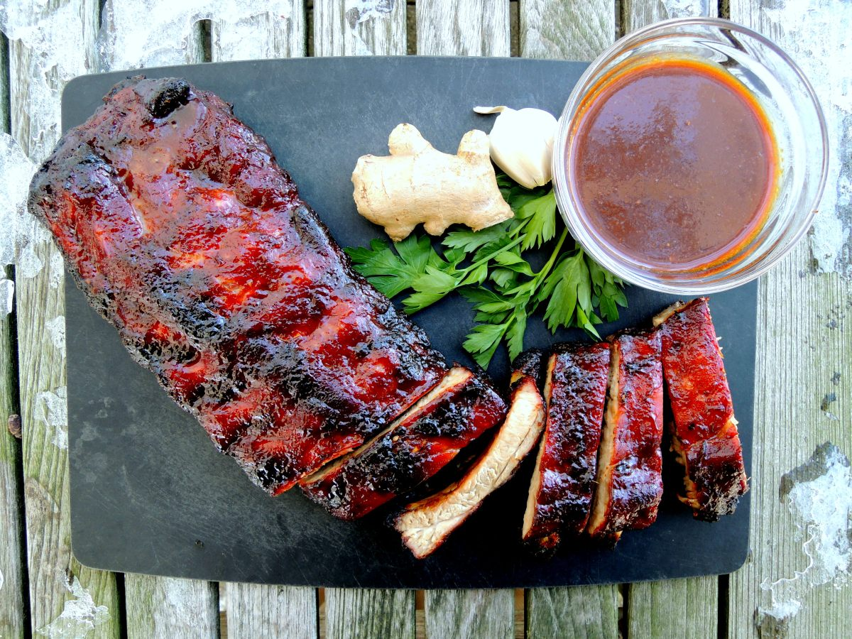LOMAY'S CHINESE BABY BACK RIBS WITH GINGER HOISIN GLAZE – Now You ...
