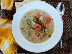 Soups, chowders, Bonac clam chowder 2