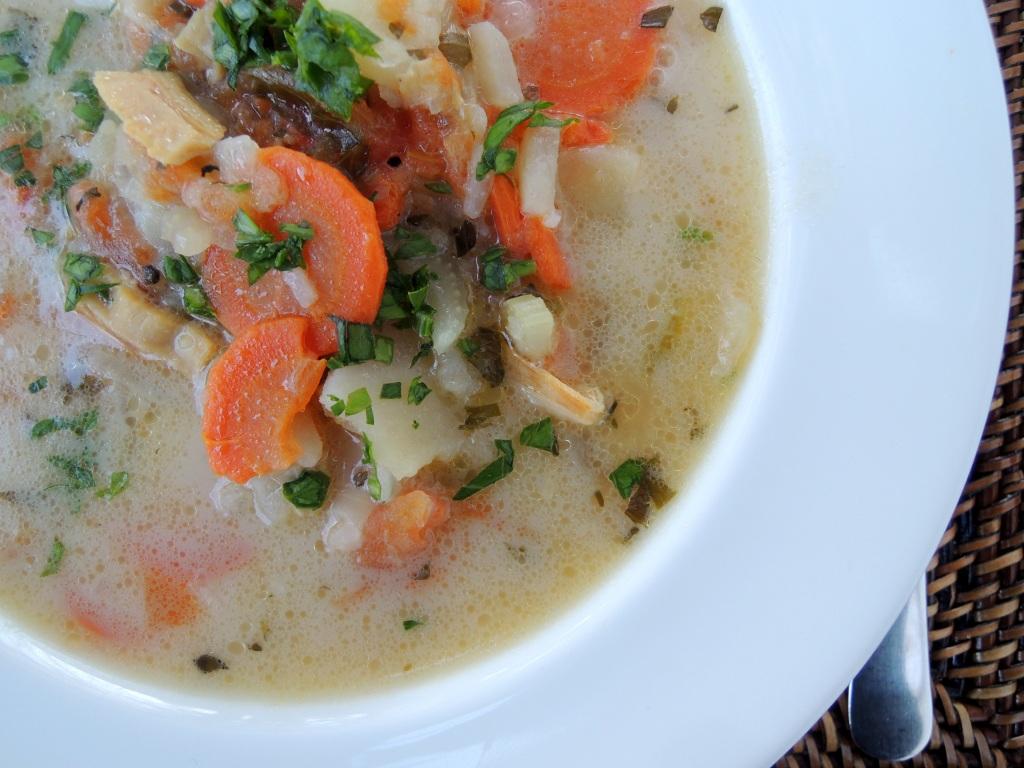 Soups, chowders, Bonac clam chowder 3
