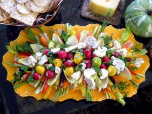Appetizers, chips, crackers and other dunkers, crudites 1