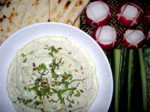 Appetizers, dips and spreads, kopanisti (Greek feta spread) 1