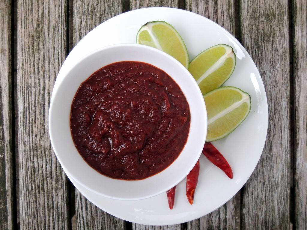 Condiments, hot sauces, Thai nam prik pao 1