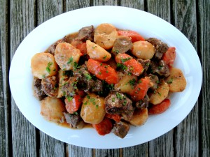 Lamb, stews, Ballymaloe Irish lamb stew 1