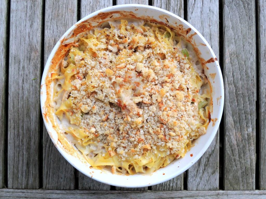 Pasta, egg noodles, Paolo's tuna noodle casserole 1