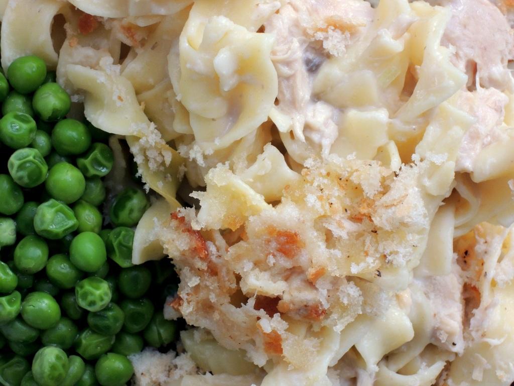 Pasta, egg noodles, Paolo's tuna noodle casserole 3