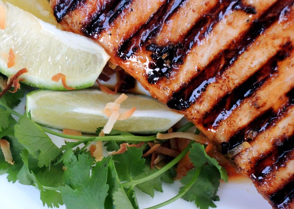 Fish, swordfish, Indonesian pan-grilled swordfish steaks 2