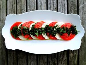 Salads, tomato, insalata Caprese 1
