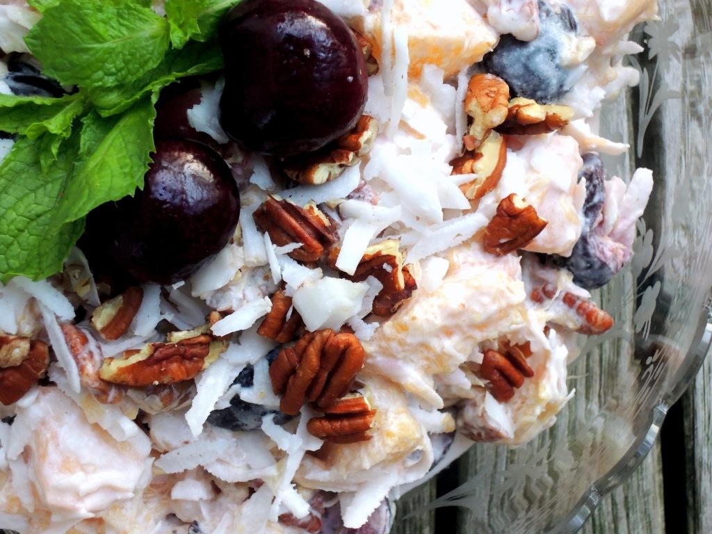Salads, fruit, ambrosia 2