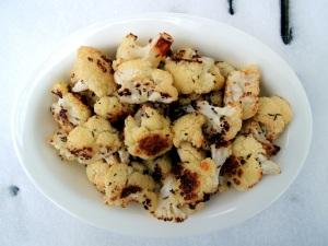 Vegetables, cauliflower, roasted cauliflower with caraway 1