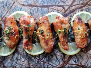 Appetizers, chicken wings, Beruit wings 1