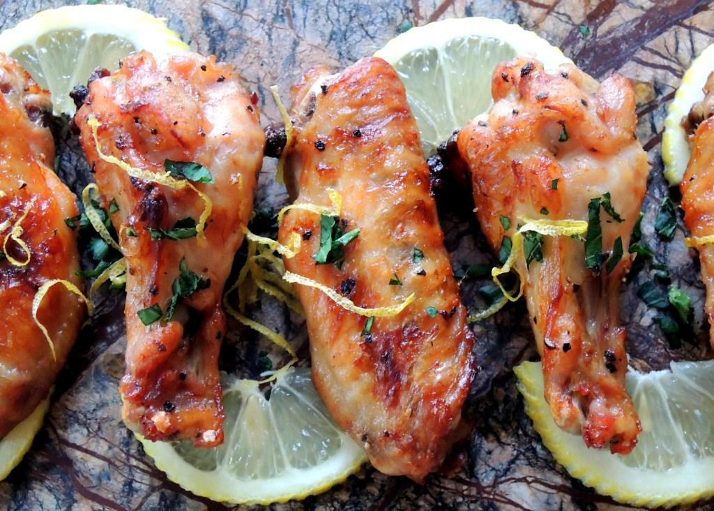 Appetizers, chicken wings, Beruit wings 2