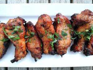 Appetizers, chicken wings, Bombay wings 1