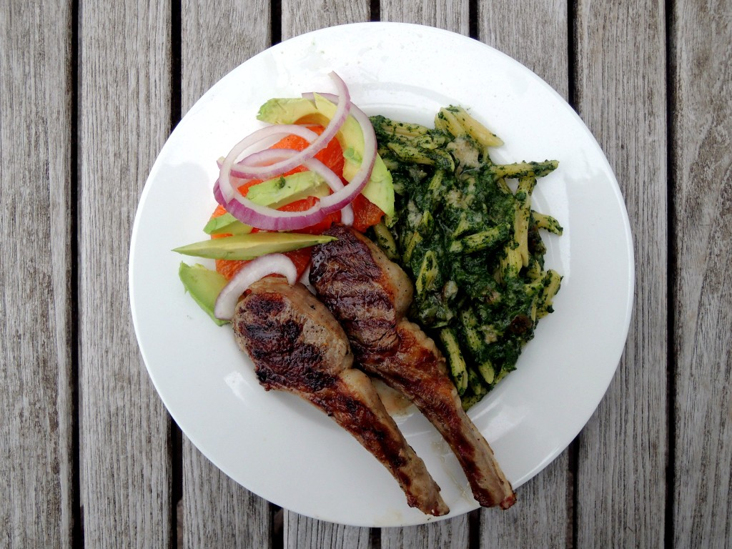 Pasta, macaroni, Frida Kahlo's macaroni and spinach 2