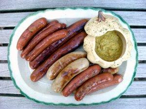 Sausages, arundel (German sausages in ale) 1