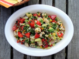 Appetizers, ceviche, conch salad 1