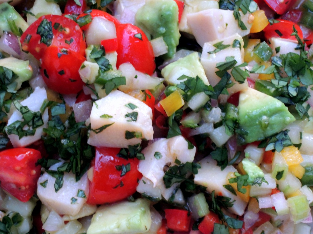 Appetizers, ceviche, conch salad 3