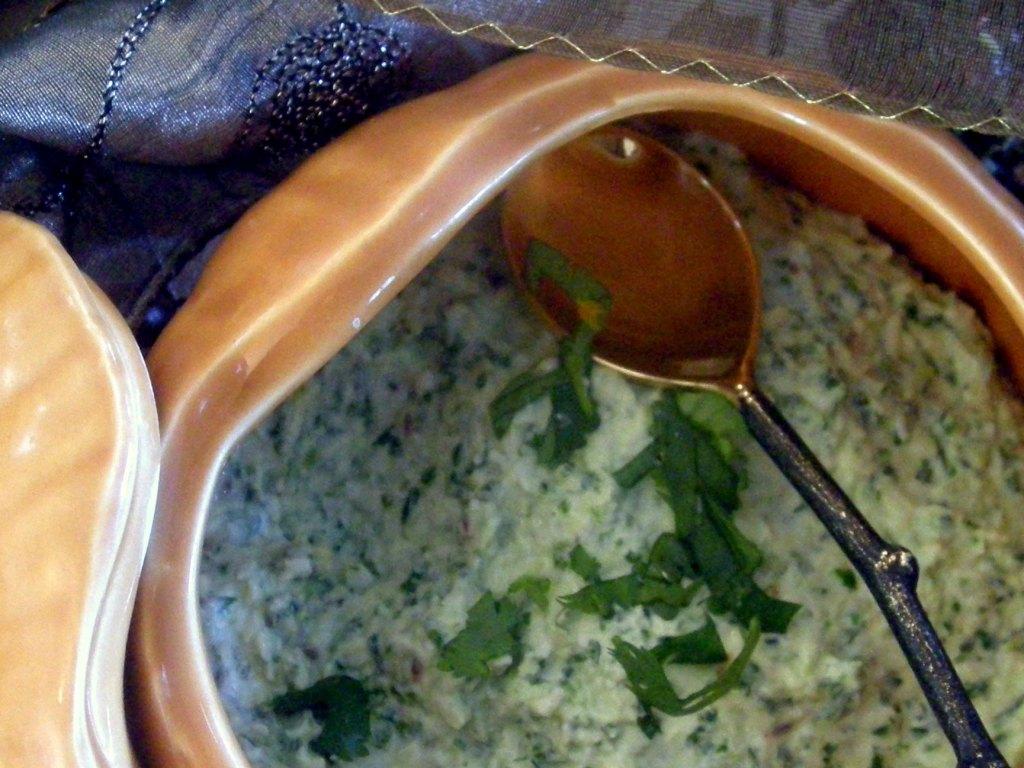Condiments, chutneys, Shernaz Patel's coriander chutney 2