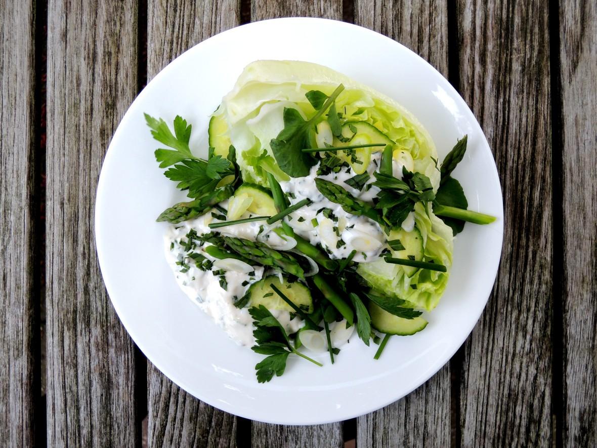 Condiments, salad dressings, green goddess dressing 3