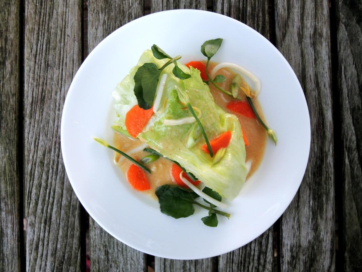 Condiments, salad dressings, miso dressing 3