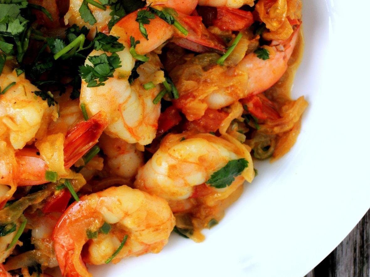 Shrimp, braised, shrimp do piaza 2