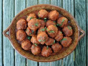 Meatballs, Frida Kahlo's Mexican meatballs in chipotle sauce 1