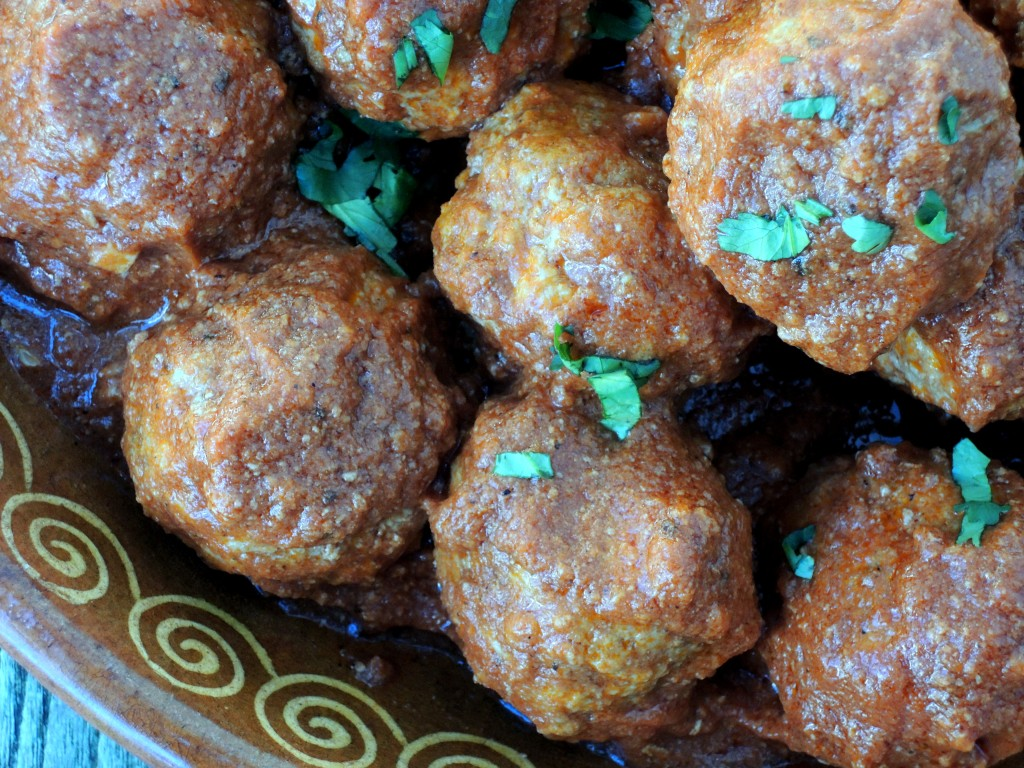 Meatballs, Frida Kahlo's Mexican meatballs in chipotle sauce 2