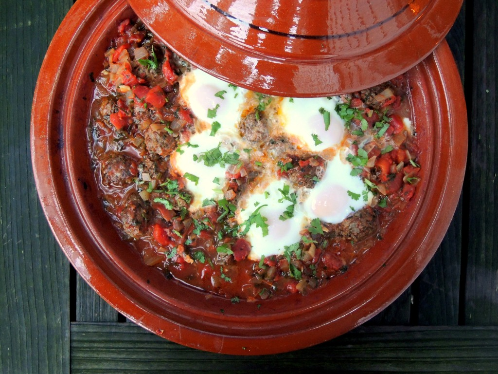 Meatballs, tagine kefrta mkawra (Moroccan meatball tagine with eggs) 2 (2)