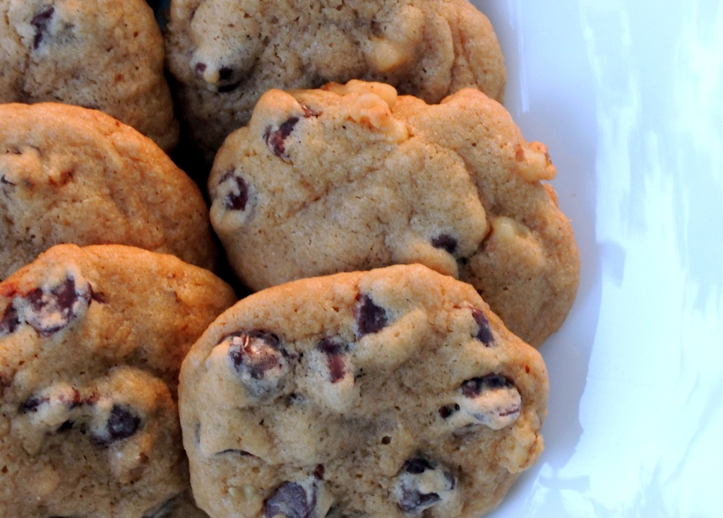 Desserts, cookies, Nana's chocolate chip cookies 2