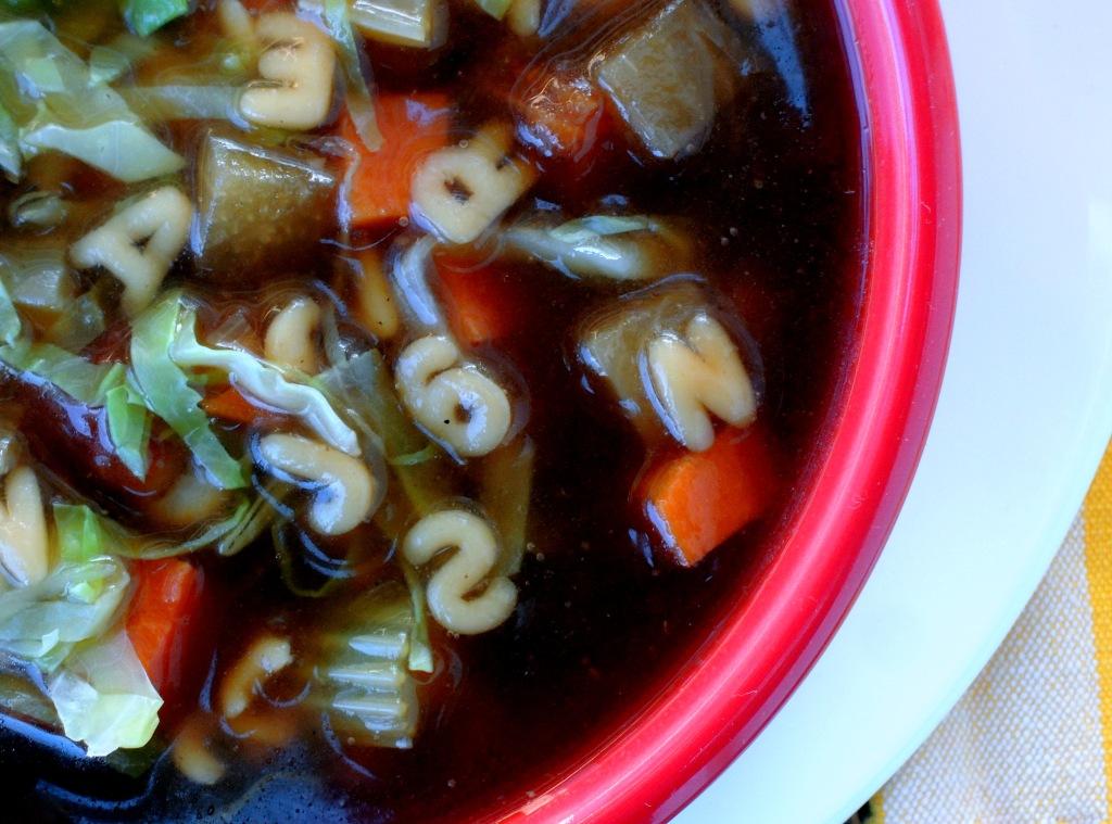 Soups, beef, vegetable beef soup 2