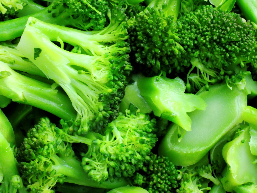Vegetables, broccoli, steamed broccoli with butter 2