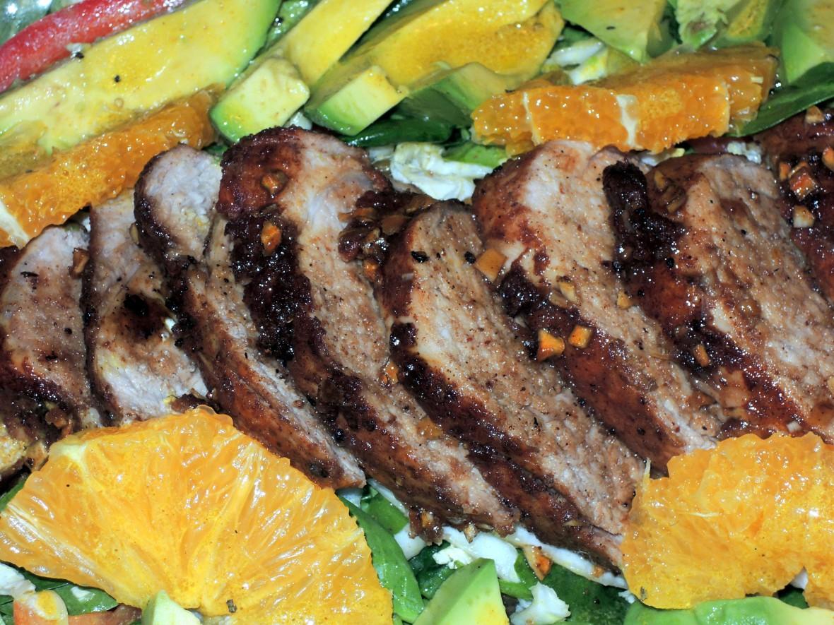 Pork, roasted pork tenderloin island style 3