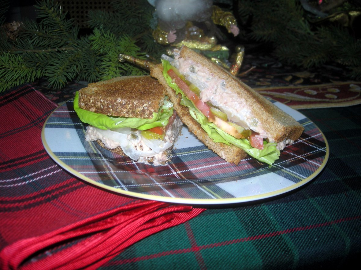 Sandwiches, deviled ham sandwich 2