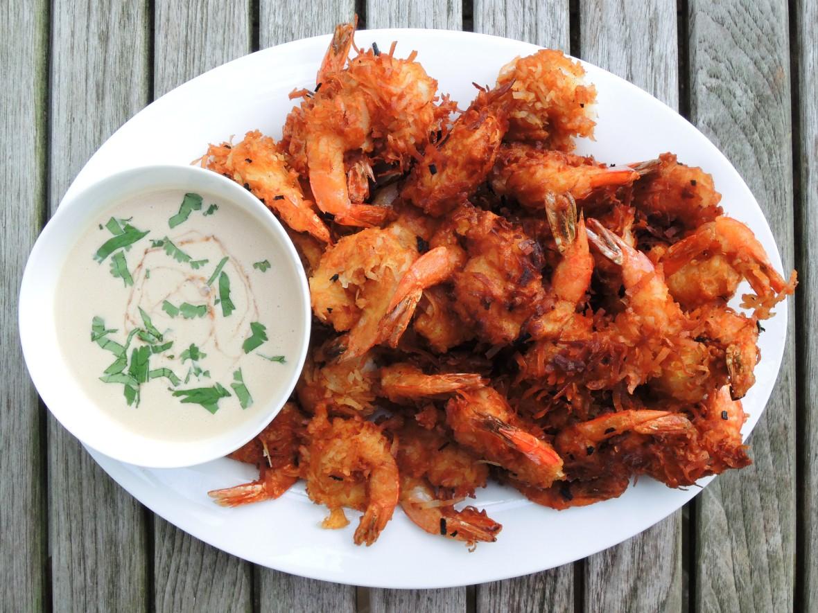 Shrimp, fried, coconut shrimp 1