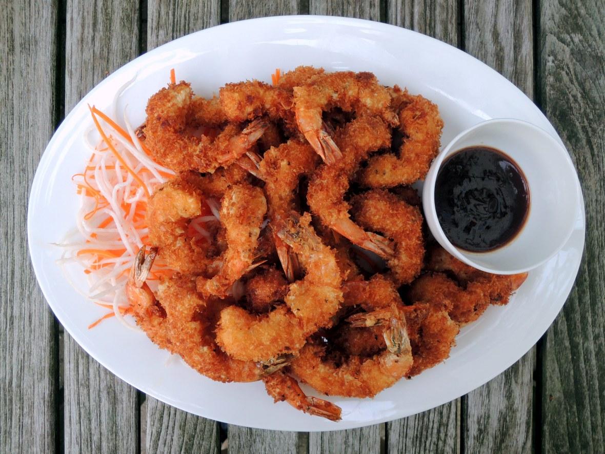 Shrimp, fried, ebi furai (Japanese fried shrimp) 1