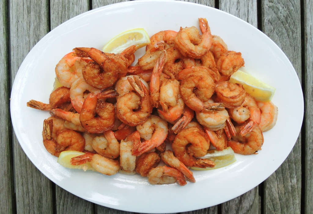 Shrimp, fried, Gulf Coast fried shrimp 1