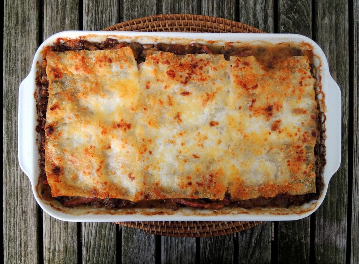 pasta-lasagne-with-mushrooms-and-ham-1