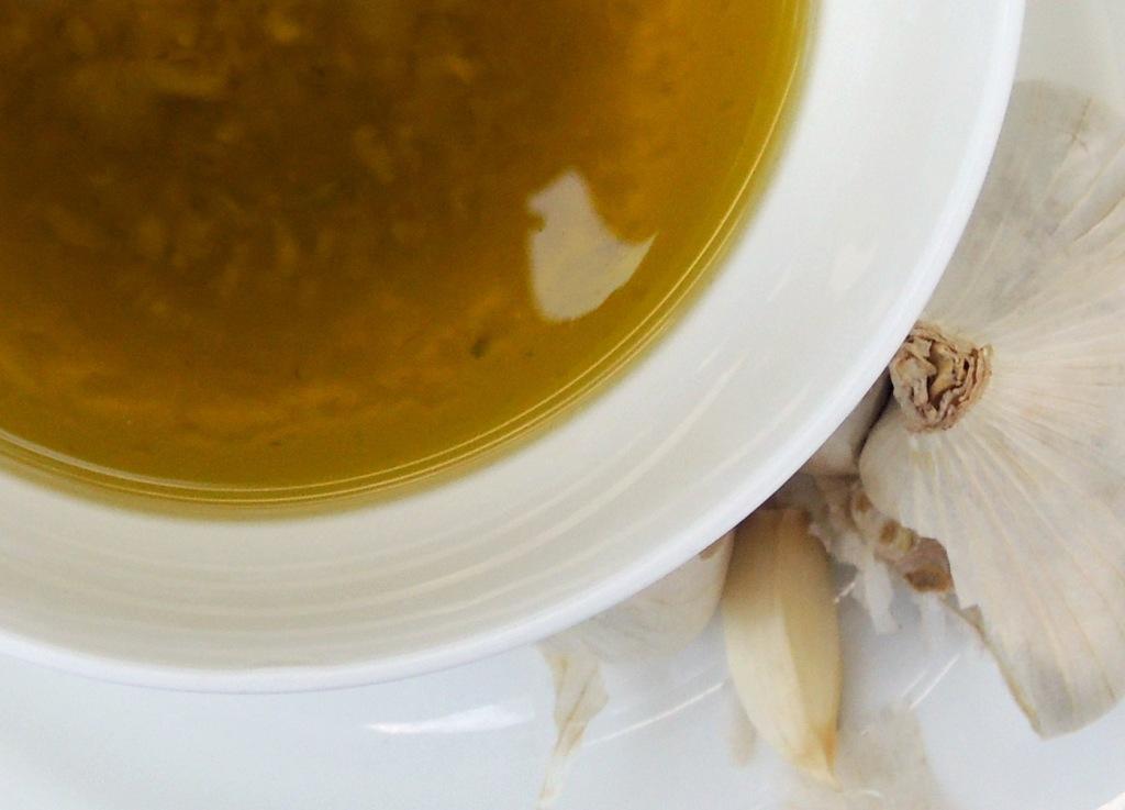 Condiments, oils, garlic oil 2