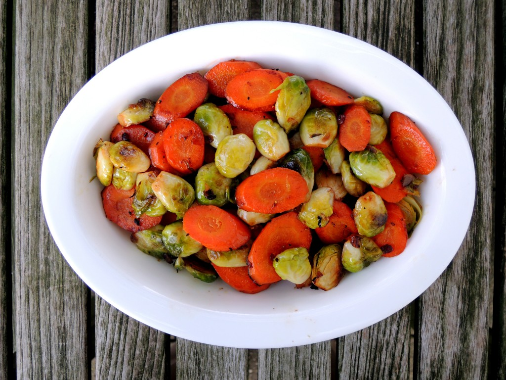 Vegetables, Brussels sprouts and carrots 1