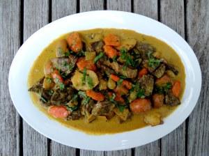 Beef, stews, Kerala-style beef stew 1