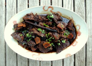 Beef, stews, Lily's Hunanese beef stew 1